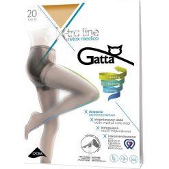 Gatta - Rajstopy X-tra Line Relax Medica 20 DEN. Szare pończochy i rajstopy Gatta. Za 23,90 zł.