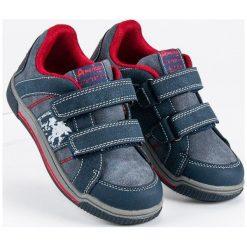 Buty dziecięce: American Club sportowe trampki american niebieskie