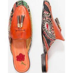 Chodaki damskie: Melvin & Hamilton SCARLETT Klapki multicolor/orange/gold