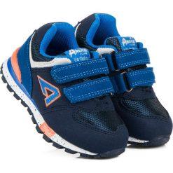 Buty dziecięce: Trampki na rzepy american ILA