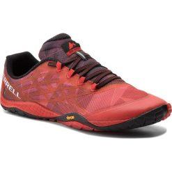 Buty MERRELL - Trail Glove 4 J09667 Molten Lava. Czerwone buty do biegania męskie Merrell, z materiału. W wyprzedaży za 259,00 zł.
