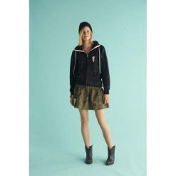 Bluzy rozpinane damskie: BLUZA CORRA BLACK