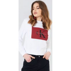 Bluzy damskie: Calvin Klein Bluza Hebe True Icon – White
