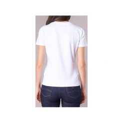 T-shirty z krótkim rękawem Emporio Armani  TAMWI. Białe t-shirty damskie Emporio Armani. Za 279,30 zł.