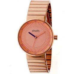 """Zegarki męskie: Zegarek kwarcowy """"the 4600"""" w kolorze różowozłotym"""
