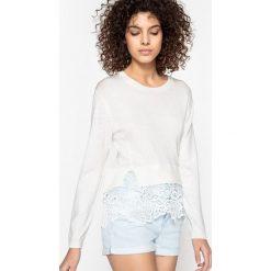 Swetry damskie: Sweter koronkowy PATRICIA