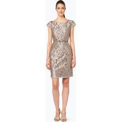 Sukienki: Esprit Collection – Damska sukienka koktajlowa, złoty
