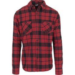 Urban Classics Checked Flannel Shirt 2 Koszula czarny/czerwony. Białe koszule męskie na spinki marki bonprix, z klasycznym kołnierzykiem, z długim rękawem. Za 94,90 zł.
