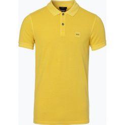 BOSS Casual - Męska koszulka polo – Prime, żółty. Żółte koszulki polo BOSS Casual, l. Za 299,95 zł.