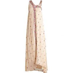 Długie sukienki: Intropia Długa sukienka beige
