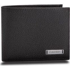 Duży Portfel Męski CALVIN KLEIN - Pebble W Plaque Slim K50K503934 001. Czarne portfele męskie marki Calvin Klein, ze skóry. Za 229,00 zł.