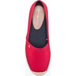 Tommy Hilfiger - Espadryle. Czerwone espadryle damskie marki Napapijri, z materiału. W wyprzedaży za 259,90 zł.