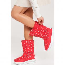Czerwone Śniegowce Catalogue. Czerwone buty zimowe damskie marki vices, za kostkę. Za 89,99 zł.