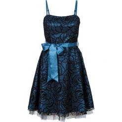 Sukienki: Sukienka koktajlowa bonprix niebieskozielony morski