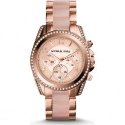 ZEGAREK MICHAEL KORS BLAIR MK5943. Różowe zegarki damskie marki Michael Kors, ze stali. Za 1550,00 zł.