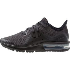 Buty do biegania damskie: Nike Performance AIR MAX SEQUENT 3 Obuwie do biegania treningowe black/anthracite