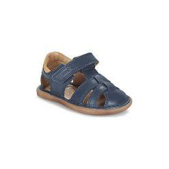 Sandały Dziecko  Shoo Pom  CRESPIN TONTON. Niebieskie sandały chłopięce marki Shoo Pom. Za 202,30 zł.
