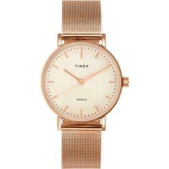 Timex FAIRFIELD  Zegarek rosegoldcoloured. Czerwone, analogowe zegarki damskie Timex. Za 459,00 zł.