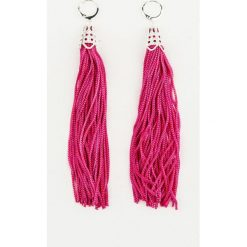 Kolczyki damskie: NA-KD Accessories Wiszące kolczyki – Pink,Multicolor