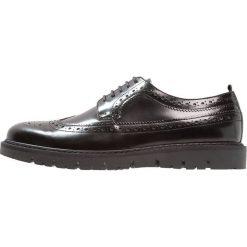 Buty wizytowe męskie: Walk London TIMMY BROGUE Eleganckie buty black high shine