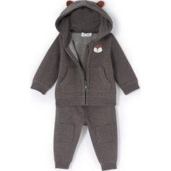 Bluzy niemowlęce: Komplet 2 częściowy, bluza z uszami 1 m-cy -3 latka