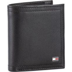 Mały Portfel Męski TOMMY HILFIGER - Harry vN/S Trifold AM0AM02178 002. Czarne portfele męskie marki TOMMY HILFIGER, ze skóry. Za 319,00 zł.