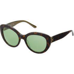 Tory Burch Okulary przeciwsłoneczne dark tort /green. Brązowe okulary przeciwsłoneczne damskie aviatory Tory Burch. Za 759,00 zł.