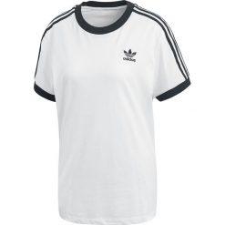 Adidas 3 Stripes Tee Koszulka damska biały/czarny. Białe bluzki na imprezę Adidas, m, w paski. Za 79,90 zł.