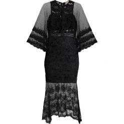 Love Triangle LUNA SLEEVE DRESS Długa sukienka black. Czarne długie sukienki Love Triangle, z materiału, z długim rękawem. Za 429,00 zł.