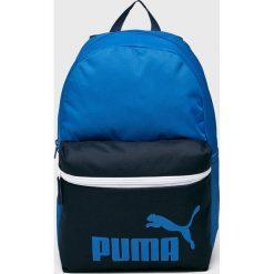 Puma - Plecak. Niebieskie plecaki męskie Puma, z poliesteru. W wyprzedaży za 79,90 zł.