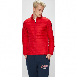 Jack & Jones - Kurtka. Czarne kurtki męskie marki Jack & Jones, l, z bawełny, z okrągłym kołnierzem. Za 169,90 zł.