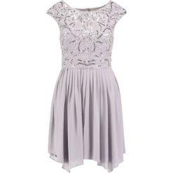 Sukienki hiszpanki: Lace & Beads GRACE Sukienka koktajlowa grey