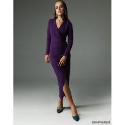 Sukienka Fern - fioletowa. Fioletowe długie sukienki marki Pakamera. Za 309,00 zł.