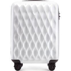 Walizka kabinowa 56-3H-551-88. Białe walizki marki Wittchen, z gumy, małe. Za 179,00 zł.