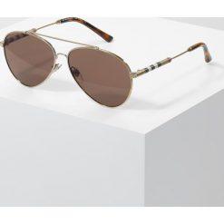 Okulary przeciwsłoneczne męskie: Burberry Okulary przeciwsłoneczne goldcoloured/brown