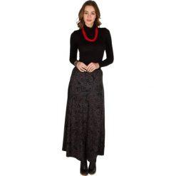 Długie spódnice: Spódnica w kolorze czarno-szarym