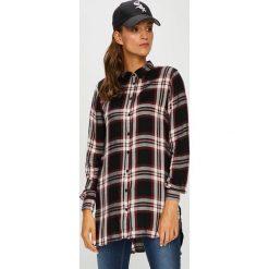 Only - Koszula. Szare koszule damskie w kratkę ONLY, z tkaniny, casualowe, z długim rękawem. W wyprzedaży za 99,90 zł.