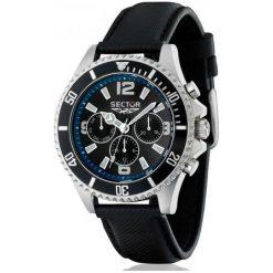 Sector Zegarek Męski r3271661025. Czarne zegarki męskie Sector. W wyprzedaży za 529,00 zł.