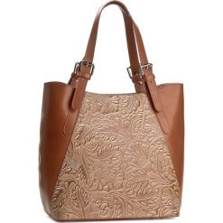 Torebka CREOLE - K10368  Koniak. Brązowe torebki klasyczne damskie Creole, ze skóry. W wyprzedaży za 259,00 zł.