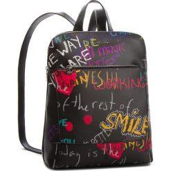 Plecak DESIGUAL - 18WAXPD0 2000. Czarne plecaki damskie Desigual, ze skóry ekologicznej, eleganckie. W wyprzedaży za 249,00 zł.