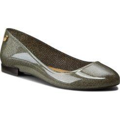 Baleriny damskie lakierowane: Baleriny LEMON JELLY  – Fancy 02 Transparent Silver/Glitter