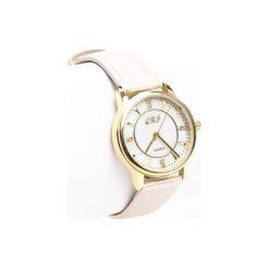 Beżowy Zegarek Last Letter. Brązowe zegarki damskie Born2be. Za 29,99 zł.