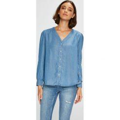 Levi's - Koszula. Brązowe koszule damskie marki Levi's®, l, z lyocellu, casualowe, z długim rękawem. Za 279,90 zł.