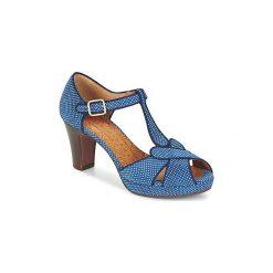 Sandały Chie Mihara  IGI. Niebieskie sandały damskie Chie Mihara. Za 1023,20 zł.