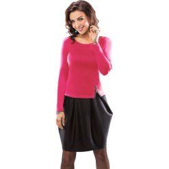 Odzież damska: Sukienka Enny w kolorze różowo-czarnym