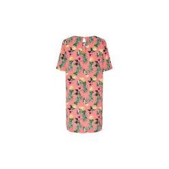 Sukienki długie Only  VESTIDO  onlNOVA LUX AOP TEE DRESS WVN MULTICOLOR. Różowe sukienki marki ONLY. Za 118,73 zł.