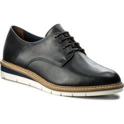 Oxfordy TAMARIS - 1-23202-20 Navy Leather 848. Szare jazzówki damskie marki Tamaris, z materiału. W wyprzedaży za 199,00 zł.