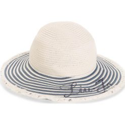 Kapelusz LIU JO - Cappello Tesa Larga N18286 T0300  Blue Denim 00770. Białe kapelusze damskie Liu Jo, z denimu. W wyprzedaży za 219,00 zł.