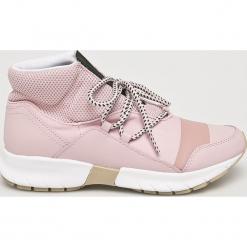 Trussardi Jeans - Buty. Szare buty sportowe damskie marki Trussardi Jeans, z jeansu. Za 639,90 zł.
