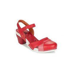 Sandały Art  I  ENJOY. Czerwone sandały damskie Art, z kauczuku. Za 367,20 zł.